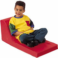 Children's Factory CF349-006 Red Preschool Lounger