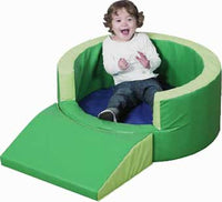 Children's Factory CF322-392 Round Relaxing Retreat - The Creativity Institute