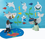 Children's Factory CF332-548 Sea Me Aquarium Mirror Decor Set