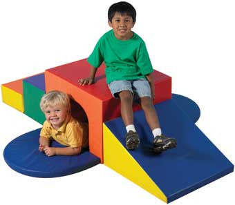 Children's Factory TUNNEL ONLY FROM CF321-049 Soft Tunnel Climber