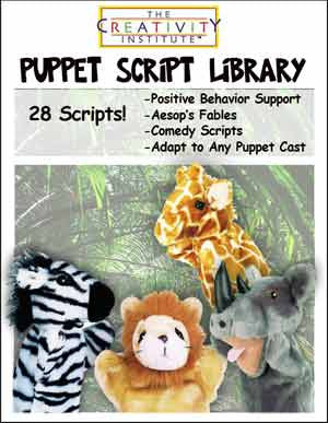 Creativity Institute's Library of 28 Original Puppet Show Scripts PDF DOWNLOAD