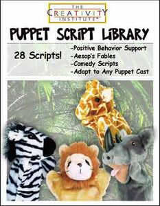 Creativity Institute's Library of 28 Original Puppet Show Scripts PDF DOWNLOAD - The Creativity Institute