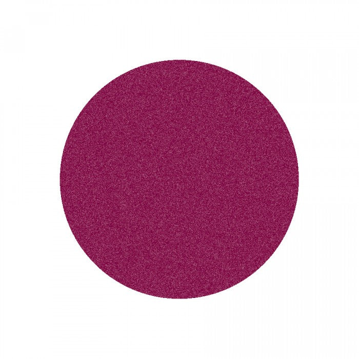 "Learning Carpets 6'6"" Round Solid Cranberry Rug - CPR868R"