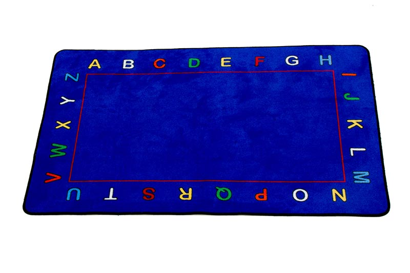 Learning Carpets Alphabet Value Rug - Rectangular - CPR607 - The Creativity Institute