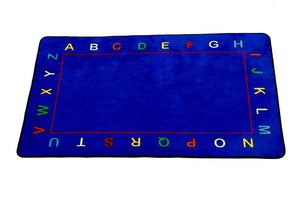 Learning Carpets Alphabet Value Rug - Rectangular - CPR607