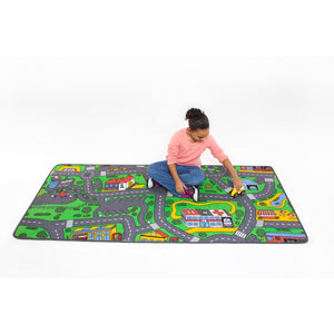 "Learning Carpets City Life Rug 36"" x 79"" - LC206 - The Creativity Institute"