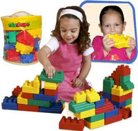 Edushape 826026 Set of 26 Mini Edublocks Building Blocks