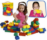 Edushape 826052 Set of 52 Mini Edublocks Building Blocks - The Creativity Institute