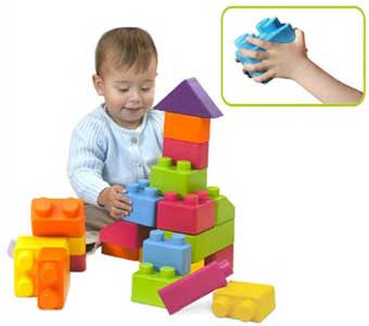 Edushape Chubby Edublocks Building Blocks Set of 36 - 845036