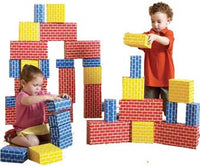 Edushape 709036 Corrugated Building Blocks Set of 36