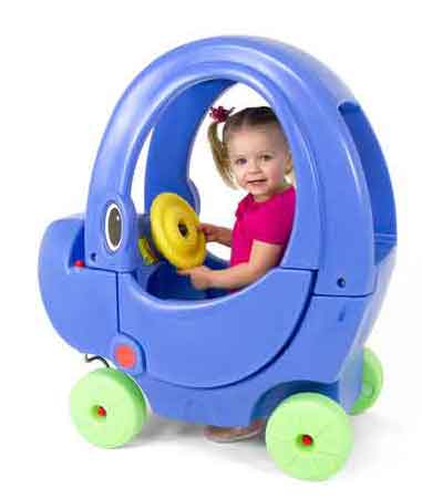 Simplay3 Elly Coupe Foot-to-Floor Ride-on