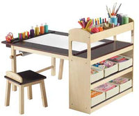 Guidecraft G51082 Deluxe Art Center