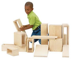 Guidecraft G97080 Junior Hollow Blocks