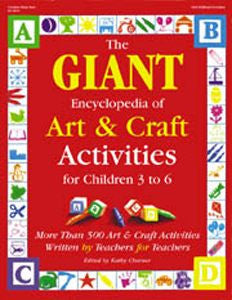 The GIANT Encyclopedia of Art & Craft Activities - Book - The Creativity Institute