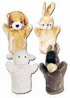 Get Ready Kids 9007 PlushPups Puppets Farm Set #2 with Easter Script