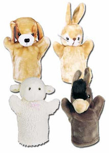 Get Ready Kids 9007 PlushPups Puppets Farm Set #2