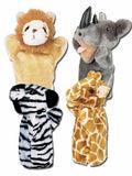 Get Ready Kids Puppets Zoo Set #1 with Free Puppet Show Script - The Creativity Institute