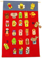 Get Ready Kids ABC Finger Puppets and Wall Chart - 737