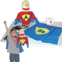 Get Ready Kids 500 Alphabet Man Puppet Set with Teacher's Guide CD