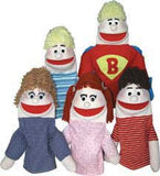 "Get Ready Kids ""No Bullies Needed"" Puppet Set with Prerecorded Scripts - Caucasian - 502-C"