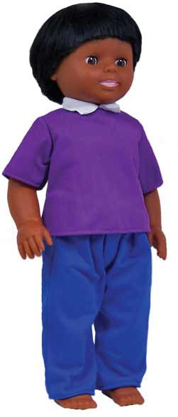 Get Ready Kids Multicultural Dolls - African-American Boy Doll - 633