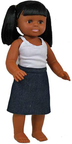 Get Ready Kids Multicultural Dolls - African-American Girl Doll - 632
