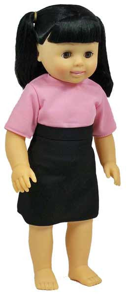 Get Ready Kids Multicultural Dolls - Asian Girl Doll - 636