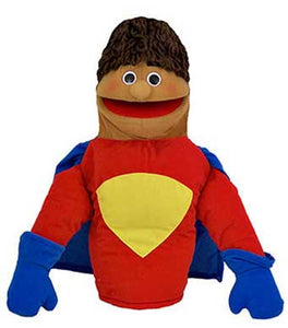 Get Ready Kids 470H Super Hero Puppet - Hispanic - The Creativity Institute