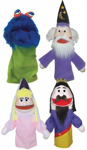 Get Ready Kids Four Medieval Puppets and Puppet Show Script - The Creativity Institute