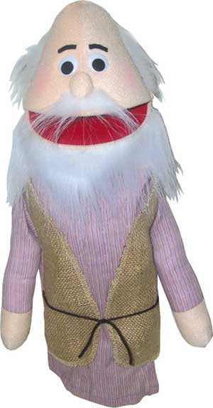 Get Ready Kids Bible Old Man or Noah Puppet - 388 - The Creativity Institute