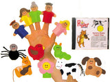 "Get Ready Kids ""Nursery Rhymes that Teach Values"" Finger Puppet Set"