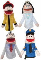 Get Ready Kids 4 Caucasian Community Helpers Puppets and Script
