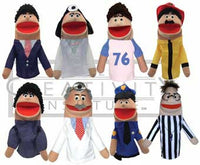 Get Ready Kids 8 Hispanic Community Helper Puppets and Script - The Creativity Institute