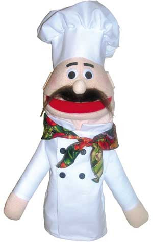 Get Ready Kids Chef Puppet - 431 - The Creativity Institute