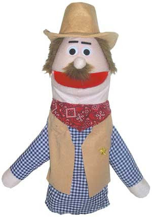 Get Ready Kids Cowboy Puppet - 475 - The Creativity Institute