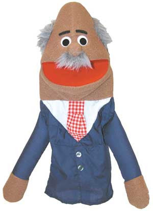 Get Ready Kids 307H Grandpa Hispanic Puppet - The Creativity Institute