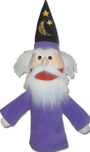 Get Ready Kids Wizard Puppet