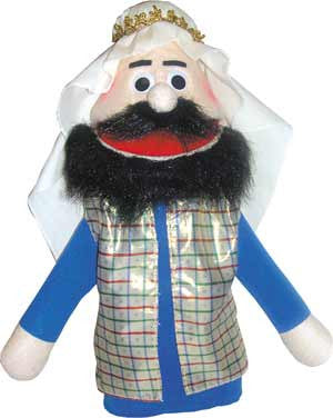 Get Ready Kids Bible Rich Man Puppet - 386