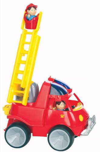 Gowi Toys Fire Engine Ladder Truck - 560-34