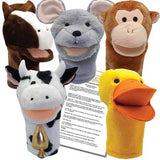 Gwynn's Fables 5 Animal Puppets and Puppet Show Scripts - Set 2