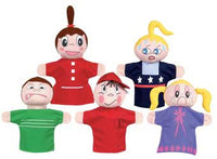 Get Ready Kids 420 Feelings Puppets - Caucasian - The Creativity Institute