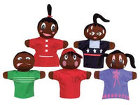 Get Ready Kids 421 Feelings Puppets - African-American