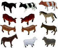 Get Ready Kids 870 Farm Animal Set 12 Pieces
