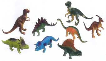 Get Ready Kids 874 Dinosaur Animal Set 8 Pieces