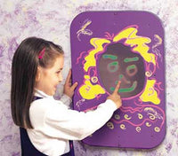 Playscapes 20MGC014 Playsa Face Girl Wall Panel