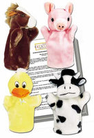 Gwynn's Fables 4 Animal Puppets and 4 Puppet Show Scripts - Set 4