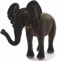 Hansa 3007 Elephant Ride-On Plush Stuffed Animal