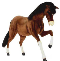 Hansa 5094 Prancing Clydesdale Ride-On Plush Stuffed Animal