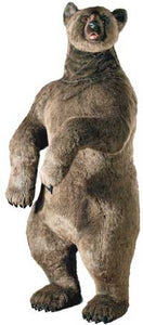 Hansa 3626 Grizzly Bear Upright Plush Stuffed Animal