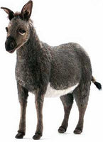 Hansa 3808 Donkey Ride-On Plush Stuffed Animal